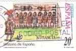 Stamps Spain -  Historia de España- NUMANCIA  (N)