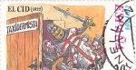 Sellos de Europa - España -  Historia de España- EL CID     (N)