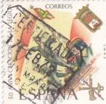Stamps Spain -  50 aniv. creación de la Legión        (N)