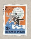 Stamps Hungary -  Pentatlon