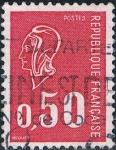 Sellos de Europa - Francia -  MARIANNE DE BÉQUET 1971. Y&T Nº 1664