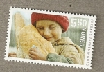 Stamps Europe - Norway -  Niño con pan