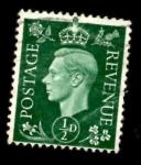Stamps United Kingdom -  GREAT BRITAIN 1937 KING GEORGE VI