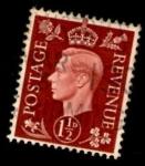 Sellos de Europa - Reino Unido -  GREAT BRITAIN 1937 KING GEORGE VI