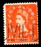 Stamps United Kingdom -  GREAT BRITAIN 1952 QUEEN ELIZABETH