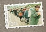Stamps Europe - Norway -  Desplazados