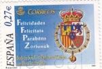 Stamps Spain -  Boda de S.A.R Príncipe de Asturias con Doña Letizia          (M)