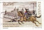 Sellos de Europa - España -  Centenario de la llegada de la Familia Tassis a España   (N)