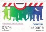 Sellos de Europa - España -  Lucha contra el Tráfico de personas          (N)