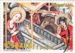 Sellos de Europa - España -  La  Natividad- Vic (Barcelona)        (N)
