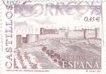 Stamps Spain -  Castillo de Jadraque (Guadalajara)         (N)