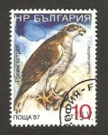 Sellos de Europa - Bulgaria -  Ave accipiet gentilis
