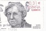 Stamps Spain -  María Lejárraga- escritora         (N)