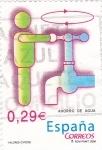Sellos de Europa - España -  Valóres Cívicos- Ahorro de Agua        (N)