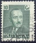Stamps : Europe : Poland :  Boleslaw Bierut (1892-1956)
