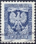Stamps : Europe : Poland :  Eagle (with a roman X)