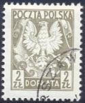 Stamps : Europe : Poland :  Eagle