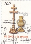 Stamps Spain -  Las   Edades del Hombre    (N)