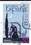 Sellos de Europa - España -  GRANADA-Festival Internacional de Música y Danza    (N)