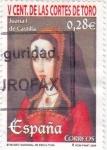 Stamps Spain -  Juana I de Castilla        (N)