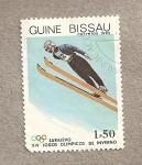 Stamps Guinea Bissau -  Juegos Olímpicos Invierno Sarajevo