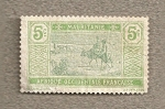 Stamps Mauritania -  Paisaje mauritano