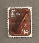 Sellos del Mundo : Oceania : Nueva_Zelanda : Instrumento musical