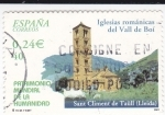 Sellos de Europa - España -  Patrimonio de la Humanidad-  SANT CLIMENT DE TAÜLL      (N)