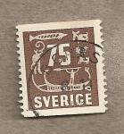Sellos del Mundo : Europa : Suecia : Simbolos escandinavos