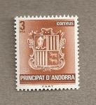 Stamps Europe - Andorra -  Escudo Andorra