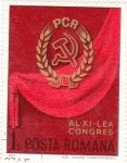 Sellos de Europa - Rumania -  Bandera Comunista Rumana