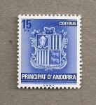 Sellos de Europa - Andorra -  Escudo Andorra