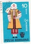 Stamps Romania -  Trajes regionales- SUCEAVA