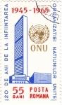 Stamps Romania -  20 Años de la Creacion de la ONU  1945-1965