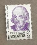 Sellos de Europa - España -  P. Calderón