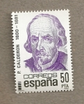 Stamps Spain -  P. Calderón
