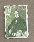 Stamps Spain -  Andres Bello