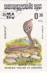 Stamps Cambodia -  Serpiente- COBRA