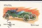 Stamps United Kingdom -  modelo  Isotta Fraschini 1908  STAFFA-Escocia