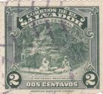 Sellos de America - El Salvador -  Indígenas regionales