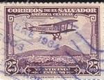 Sellos de America - El Salvador -  Correo Aéreo