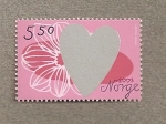 Stamps Europe - Norway -  Corazón