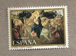 Stamps Spain -  Navidad 1982