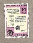 Sellos de Europa - Andorra -  Europa 82