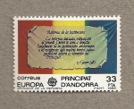 Stamps Andorra -  Europa 82