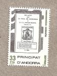 Stamps Andorra -  Descripción Valle de Andorra