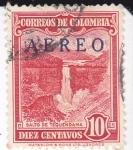 Sellos de America - Colombia -  Salto de Tequendama