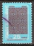 Sellos de Asia - Turquía -  türkiye cumhuriyeti-república de Turquía.