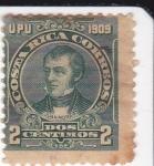 Stamps Costa Rica -  Juan Mora F.- Político