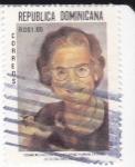 Sellos de America - Rep Dominicana -  Conmemoración de las obras humanitarias de Dña. Ema Balaguer